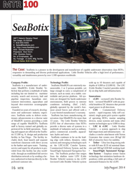 Marine Technology Magazine, page 16,  Jul 2014