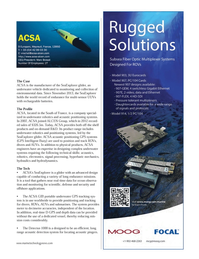 Marine Technology Magazine, page 17,  Jul 2014
