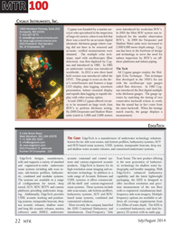 Marine Technology Magazine, page 22,  Jul 2014