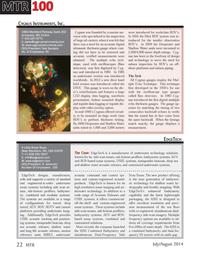 Marine Technology Magazine, page 22,  Jul 2014