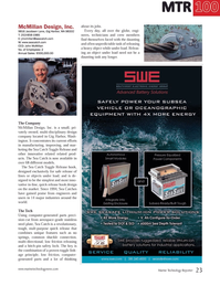 Marine Technology Magazine, page 23,  Jul 2014