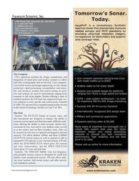 Marine Technology Magazine, page 25,  Jul 2014