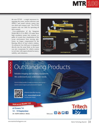 Marine Technology Magazine, page 31,  Jul 2014