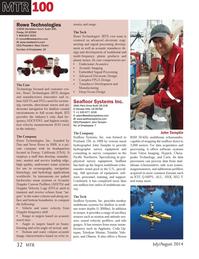 Marine Technology Magazine, page 32,  Jul 2014