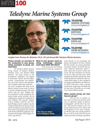 Marine Technology Magazine, page 36,  Jul 2014