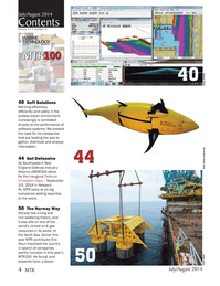 Marine Technology Magazine, page 4,  Jul 2014