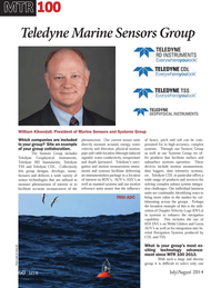 Marine Technology Magazine, page 60,  Jul 2014