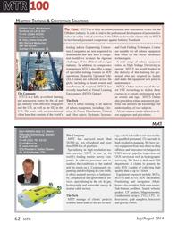 Marine Technology Magazine, page 62,  Jul 2014