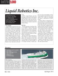 Marine Technology Magazine, page 66,  Jul 2014
