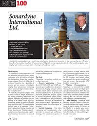 Marine Technology Magazine, page 72,  Jul 2014