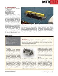 Marine Technology Magazine, page 73,  Jul 2014