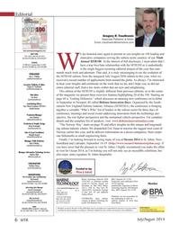 Marine Technology Magazine, page 6,  Jul 2014
