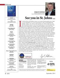Marine Technology Magazine, page 8,  Sep 2014