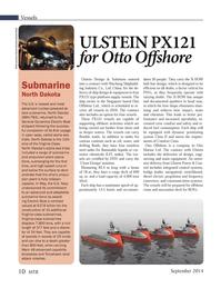 Marine Technology Magazine, page 10,  Sep 2014