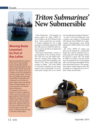 Marine Technology Magazine, page 12,  Sep 2014