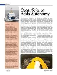 Marine Technology Magazine, page 14,  Sep 2014