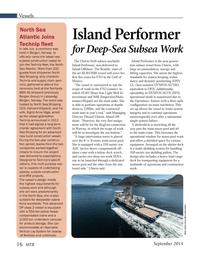 Marine Technology Magazine, page 16,  Sep 2014