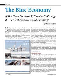 Marine Technology Magazine, page 20,  Sep 2014