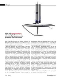 Marine Technology Magazine, page 22,  Sep 2014