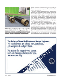 Marine Technology Magazine, page 30,  Sep 2014