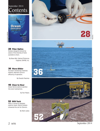 Marine Technology Magazine, page 2,  Sep 2014