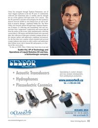 Marine Technology Magazine, page 41,  Sep 2014