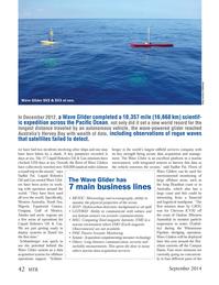 Marine Technology Magazine, page 42,  Sep 2014