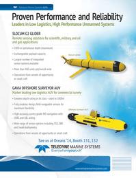 Marine Technology Magazine, page 3,  Sep 2014