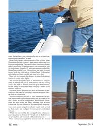 Marine Technology Magazine, page 48,  Sep 2014