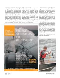 Marine Technology Magazine, page 50,  Sep 2014