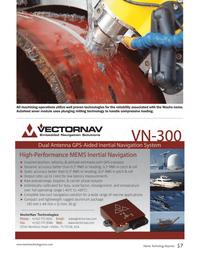 Marine Technology Magazine, page 57,  Sep 2014