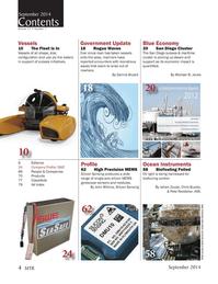 Marine Technology Magazine, page 4,  Sep 2014