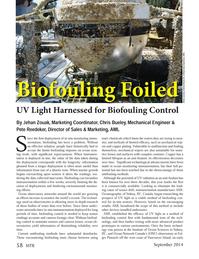Marine Technology Magazine, page 58,  Sep 2014
