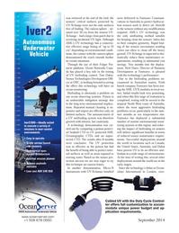 Marine Technology Magazine, page 60,  Sep 2014