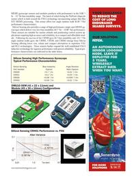 Marine Technology Magazine, page 63,  Sep 2014