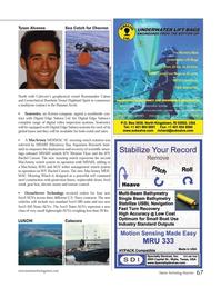 Marine Technology Magazine, page 67,  Sep 2014