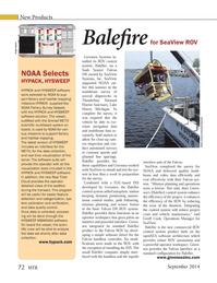 Marine Technology Magazine, page 72,  Sep 2014