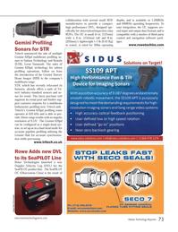 Marine Technology Magazine, page 73,  Sep 2014