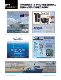 Marine Technology Magazine, page 77,  Sep 2014