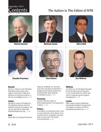Marine Technology Magazine, page 6,  Sep 2014
