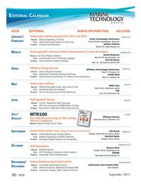 Marine Technology Magazine, page 80,  Sep 2014