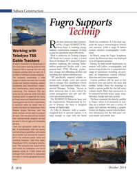 Marine Technology Magazine, page 8,  Oct 2014