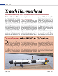 Marine Technology Magazine, page 10,  Oct 2014