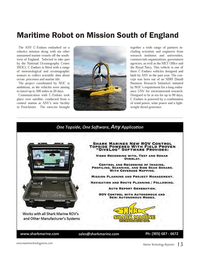 Marine Technology Magazine, page 13,  Oct 2014