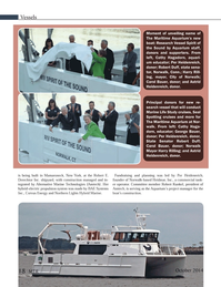 Marine Technology Magazine, page 18,  Oct 2014
