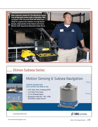 Marine Technology Magazine, page 19,  Oct 2014