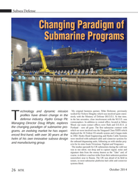 Marine Technology Magazine, page 26,  Oct 2014