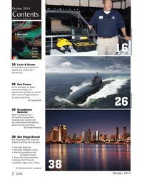 Marine Technology Magazine, page 2,  Oct 2014