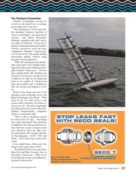 Marine Technology Magazine, page 49,  Oct 2014