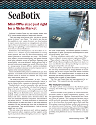 Marine Technology Magazine, page 51,  Oct 2014